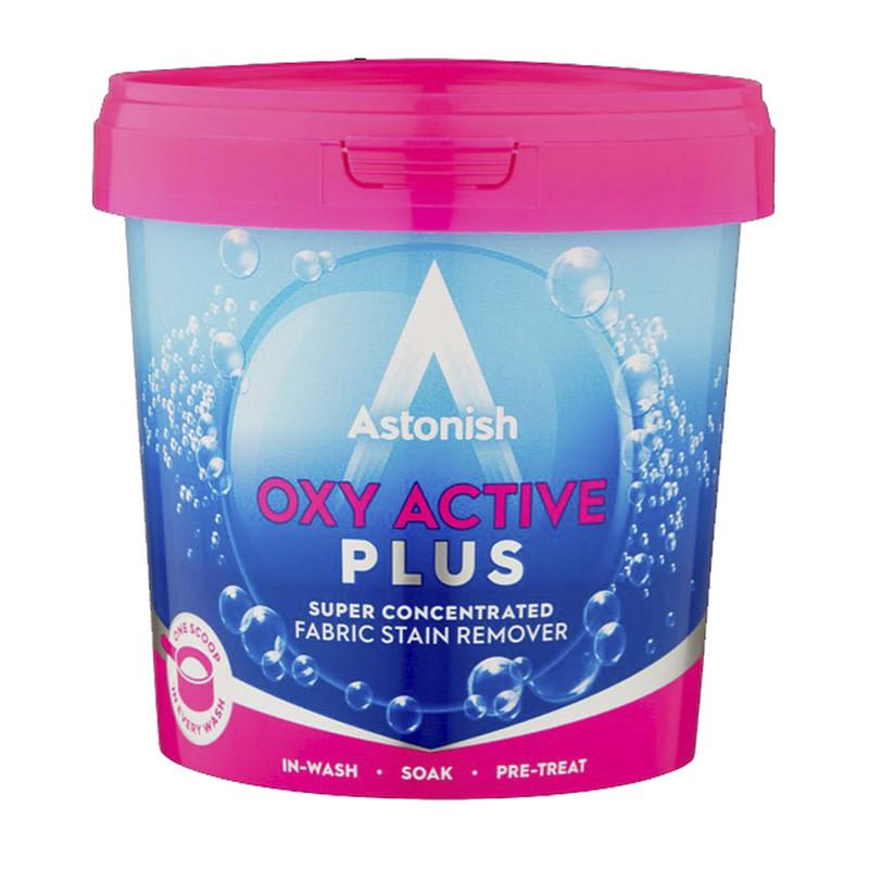 Натрий перкарбонат кислородный пятновыводитель Astonish Oxy Plus 1 кг
