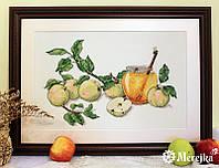 """Набор для вышивания крестом """"Медовые яблоки"""" Мережка"""