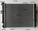 Радиатор водяной на погрузчик Komatsu FD15T-20 (7683 грн)  (4D92; 4D94E; 4D94LE)  3EA0451210, 3EA-04-51210, фото 2