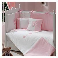 Комплект детского постельного белья Daysi Funnababy розовое