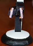 Набор серебряный с золотыми вставками, фото 4