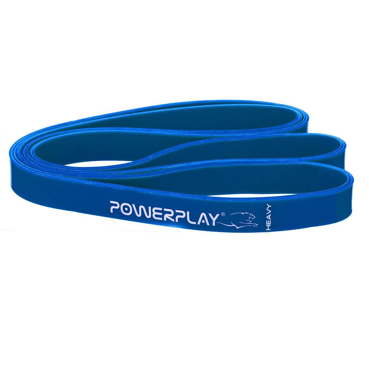 Резинка для фітнесу PowerPlay 4115 Heavy Синя