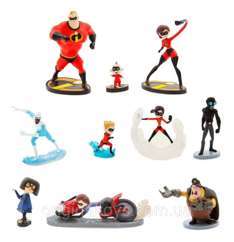 Ігровий набір з фігурками Суперсімейка 2 Disney