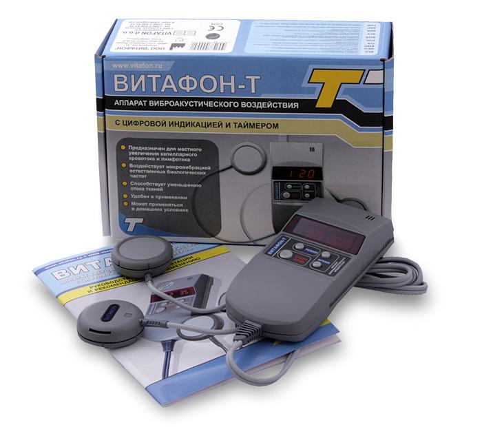 Аппарат виброакустический с цифровой индикацией и таймером Витафон - Т