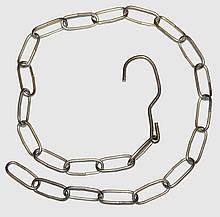 Цепь торговая металлическая д 4,2 мм
