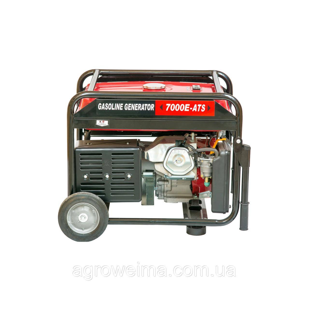 Двигатель бензиновый WEIMA WM7000E ATS б/генер 7,0Квт, 1ФАЗА ,вес 96кг,двиг.WM190FE-16л.с.