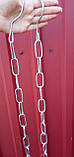 Ланцюг торгова металева д 3.5 мм, фото 2