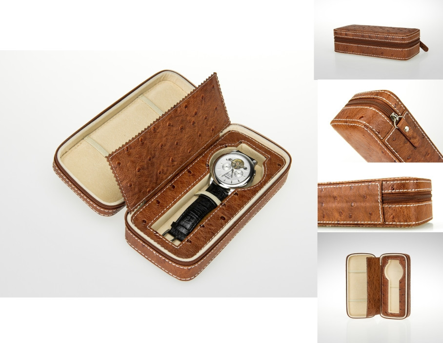 Шкатулка для зберігання годинника Salvadore 1W-OSDB/PU