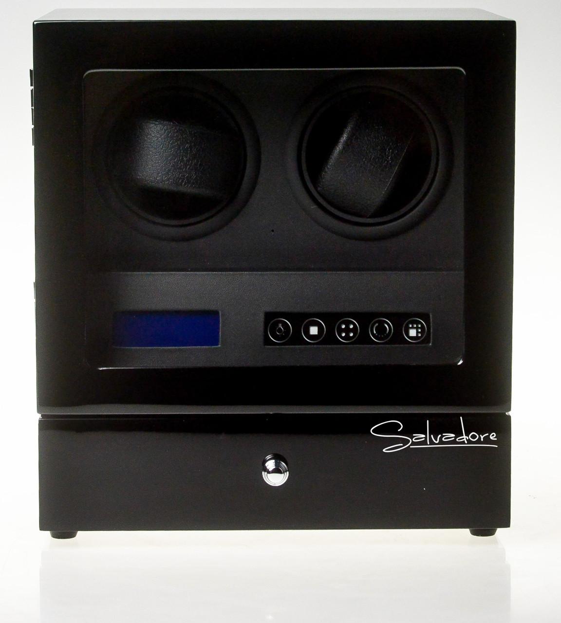 Шкатулка для подзавода часов Salvadore S-2/02-LB 2x2+