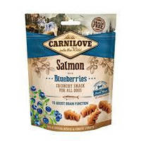 Лакомство Carnilove Dog Crunchy Snack лосось,черника для собак, 200 грм