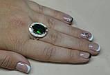 Кольцо серебряное 925 пробы с накладками золота 375 пробы, фото 7