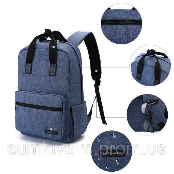 Рюкзак для ноутбука ALTADENA городской  синий