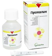 Пропалин 100 мл (Сироп при недержании мочи у собак)