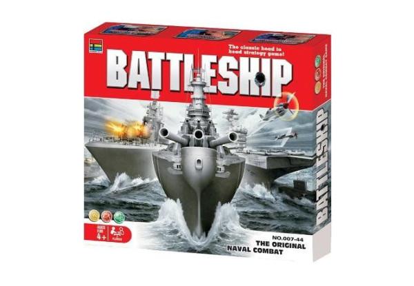 Настольная игра Морской бой в кейсе