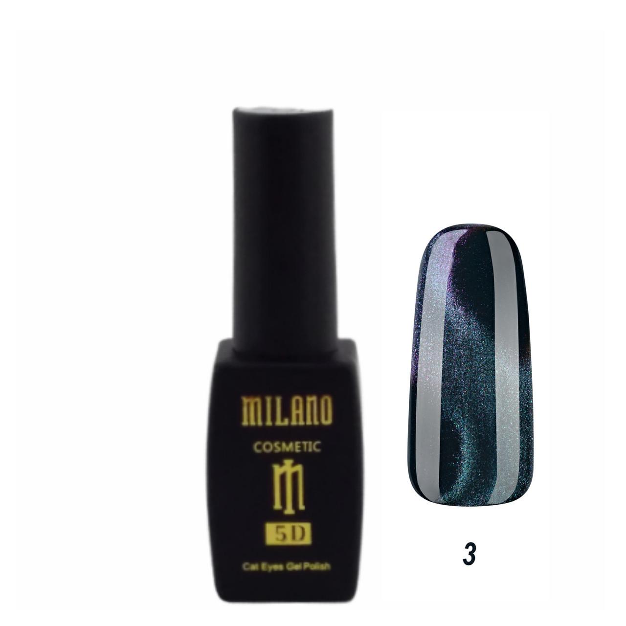 Гель лак 5D MILANO 8 ml № А03