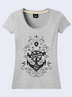 Женская 3D футболка SAIL ANCHOR