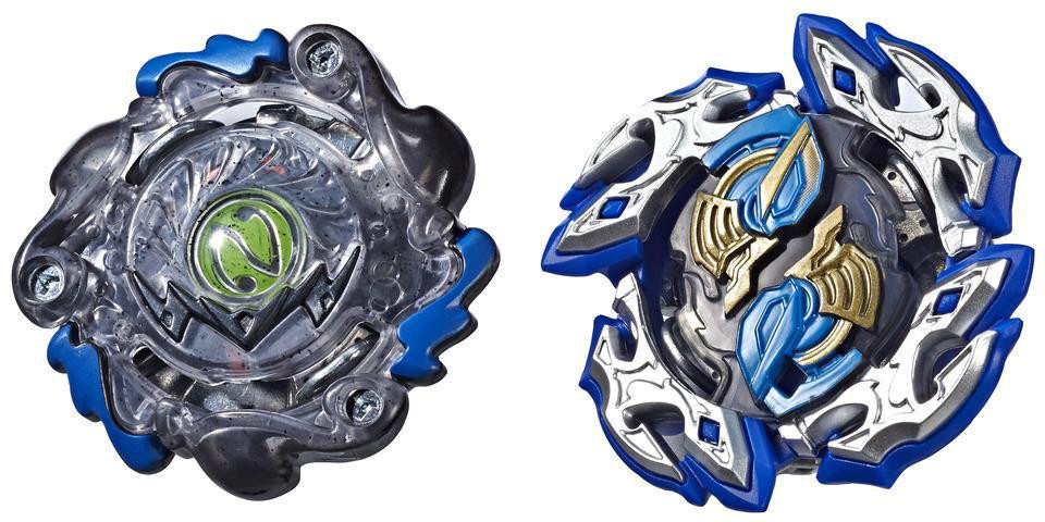 Ігровий набір Hasbro Beyblade 2 вовчка Sling Shogk Pack Dullahan D4 and Dark-X Nepstrius N4 (E4604-E4749)