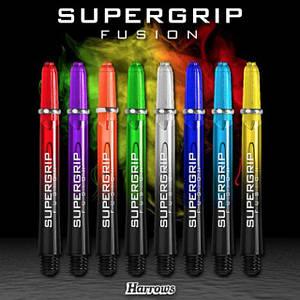 Хвостовики для дротиков дартс Англия Supergrip Fusion 6 штук