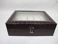 Шкатулка для хранения часов Craft 10PU.CROC.BR, фото 1