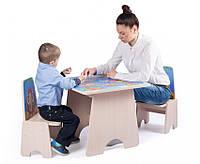 """Игровой столик """"3 игры - Бродилка"""" , фото 1"""
