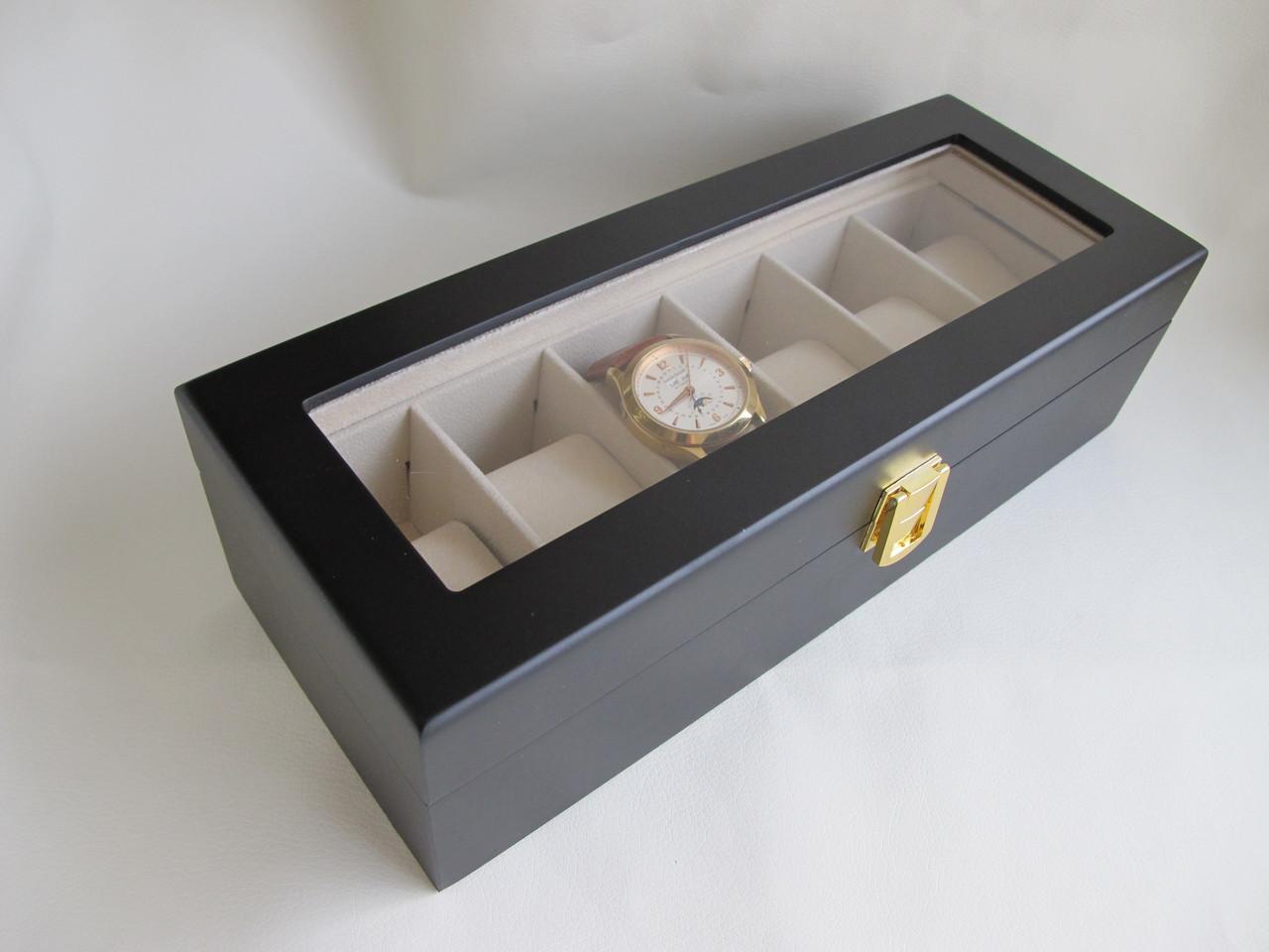 Шкатулка для хранения часов Craft 6WB.LID.MAT.BL