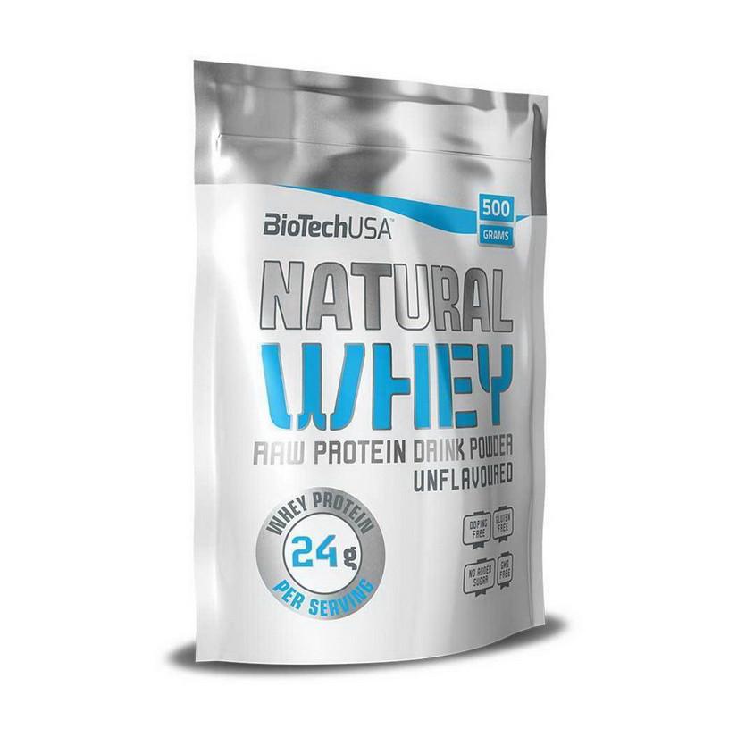 Протеин сывороточный  Natural Whey (500 g, natural) BioTech