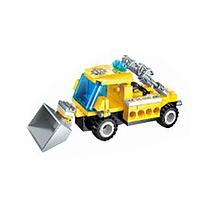 Детский тематический конструктор BRICK 1408-6 транспорт (8 видов) | строительная техника для детей