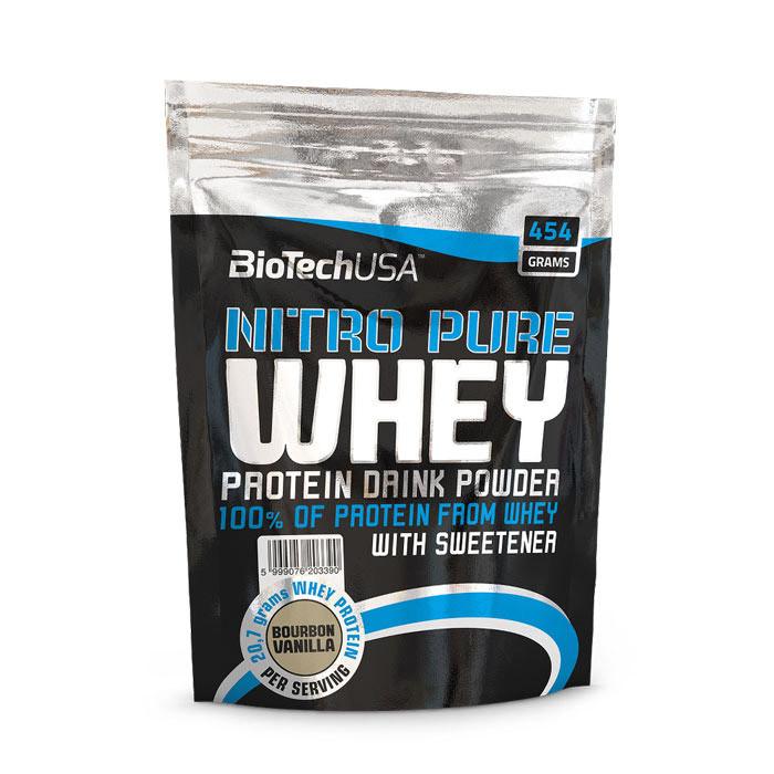 Протеин сывороточный Nitro Pure Whey (454 g) BioTech