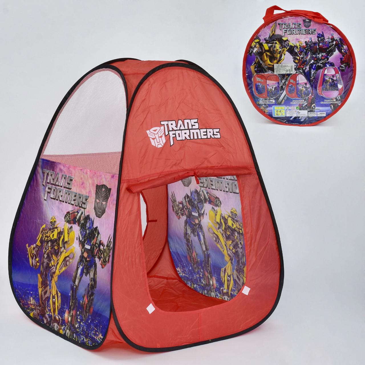 Палатка детская 8099 TF 72х72х92 см в сумке Гарантия качества Быстрая доставка