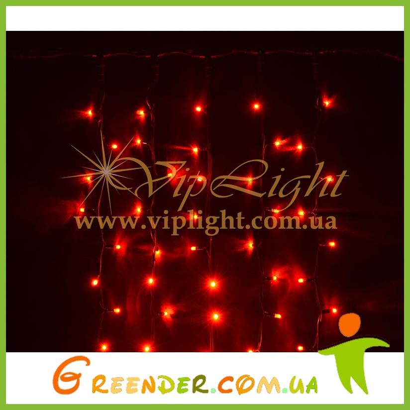 Новогодние гирлянды / светодиодный занавес Плей Лайт 3х0,9 м