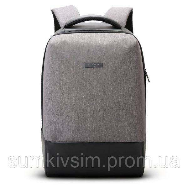 Рюкзак для ноутбука Brentwood  городской серый, фото 1