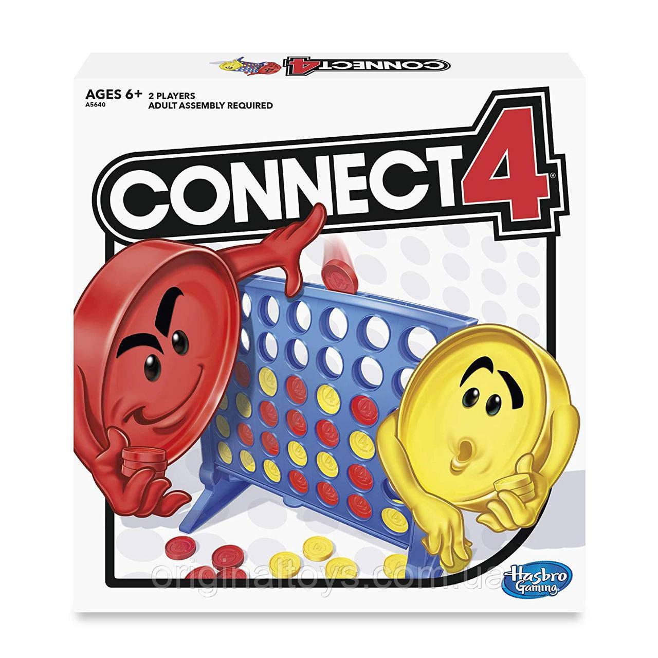 Настольная игра Собери 4 Connect 4 Hasbro A5640