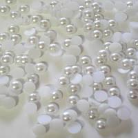 Полубусина перли біла, фото 1