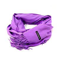 Женский кашемировый шарф Cashmere S92, сиреневый