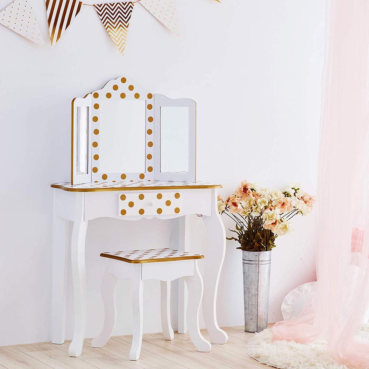 Туалетный столик и стул для девочек - Teamson Kids TD-11670M