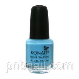 Лак для стемпинга Konad Pastel Blue (5ml)