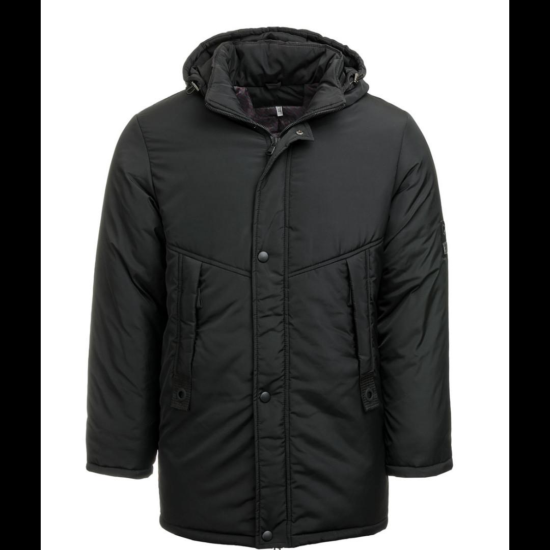 Куртка зимняя для мальчиков (чёрный)