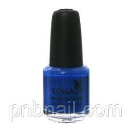 Лак для стемпинга Konad Blue (5ml)