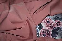 Пыльная роза. Новый цвет.Ткань креп костюмка барби однотонная №339, фото 1