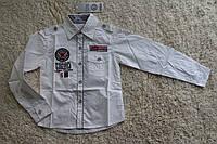 Рубашка для мальчика с длинным рукавом Athletic Размер 4 - 12 лет