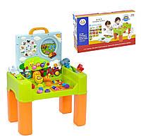 Игровой центр 6в1 столик для увлекательных и развивающих игр малыша