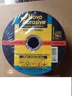 Круг отрезной по металу Novo Abrasive 125х1,6х22,2  (50шт/уп)