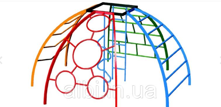 Рукоход Сфера из 6 элементов