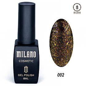 Гель лак Milano Chameleon collection - 002