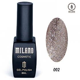 Гель лак Milano Shine collection -002