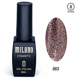Гель лак Milano Shine collection -003