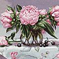 наборы для вышивки крестом цветы