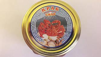 Мясо краба натуральное 580 грамм