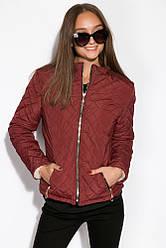Куртка женская 121P018 (Бордовый)