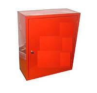 Шкаф пожарный  ШПК-310 НЗКнавесной закрытый красный